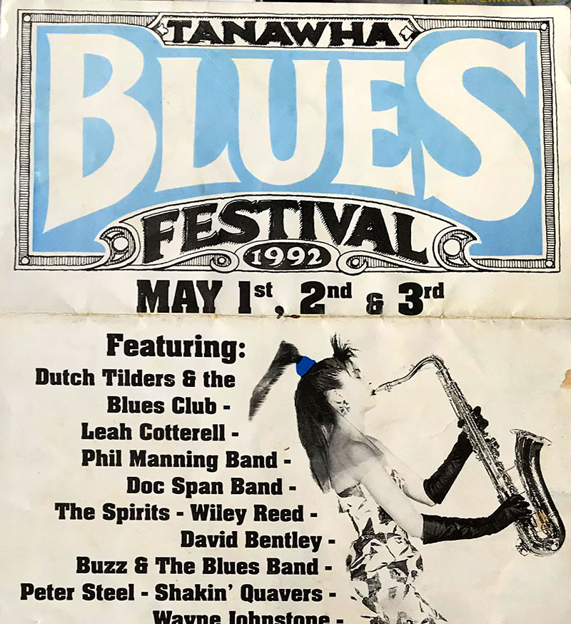 Spirits host the 1992 Blues Festival at tanawha
