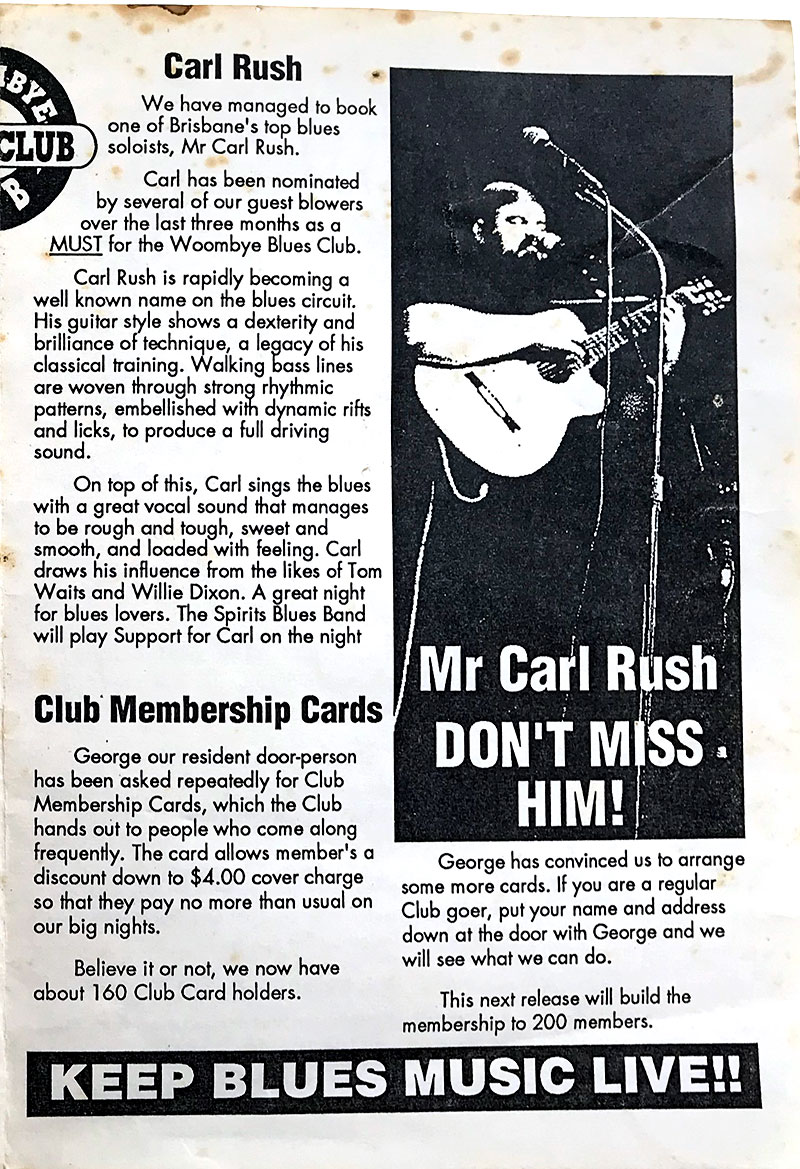 The Blues Rag Promotions