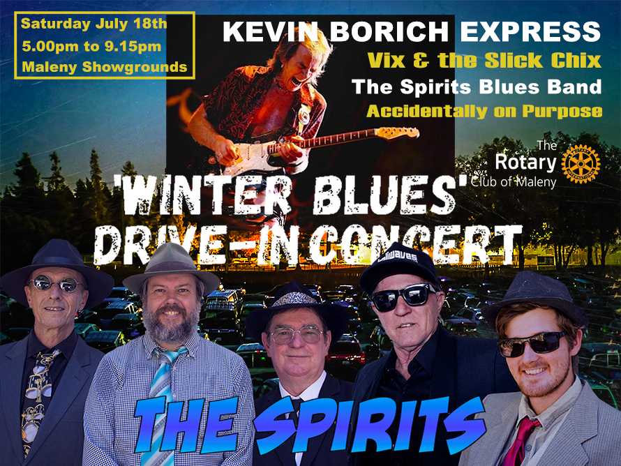 The Spirits Blues Band live at Maleny Showgrounds